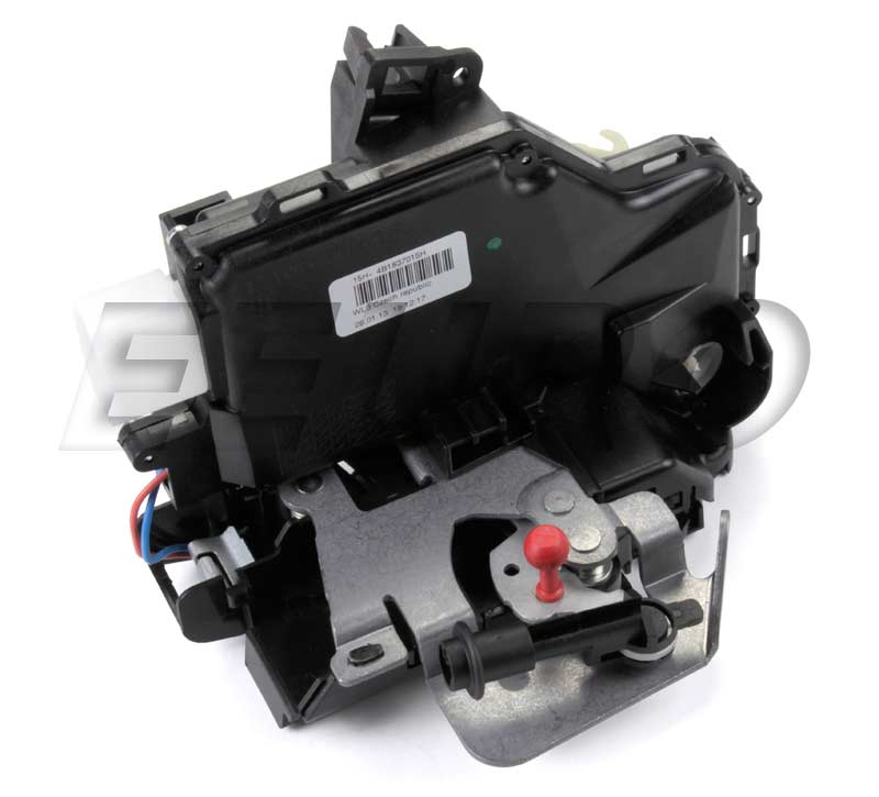 Door Lock Actuator - Front Driver Side (w/ Contact Switch) 4B1837015H Main Image  sc 1 st  eEuroparts.com & 4B1837015H - Genuine Audi - Door Lock Actuator - Free Shipping Available