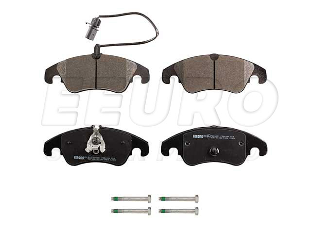 Click here for Disc Brake Pad Set - Front - EBC RedStuffs DP32022... prices