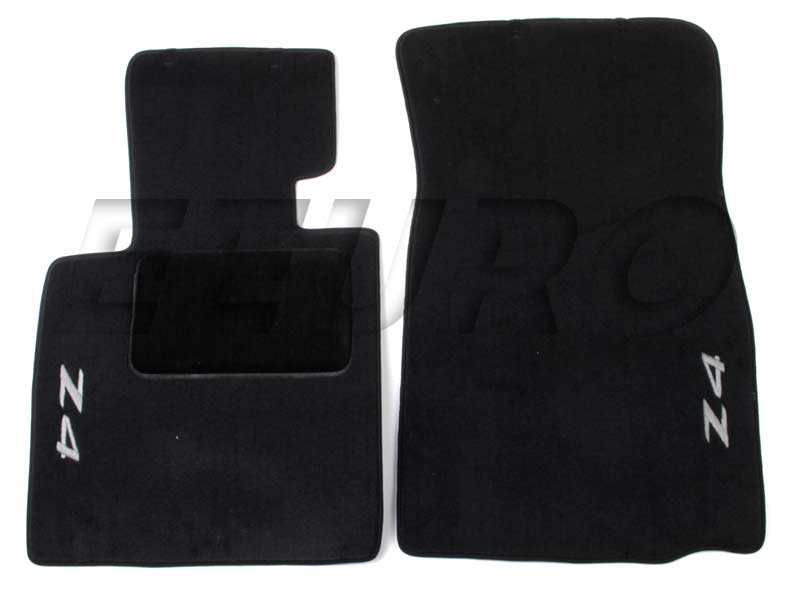 Floor Mat Set - Front (Z4) (Black) 82110152598 Main Image