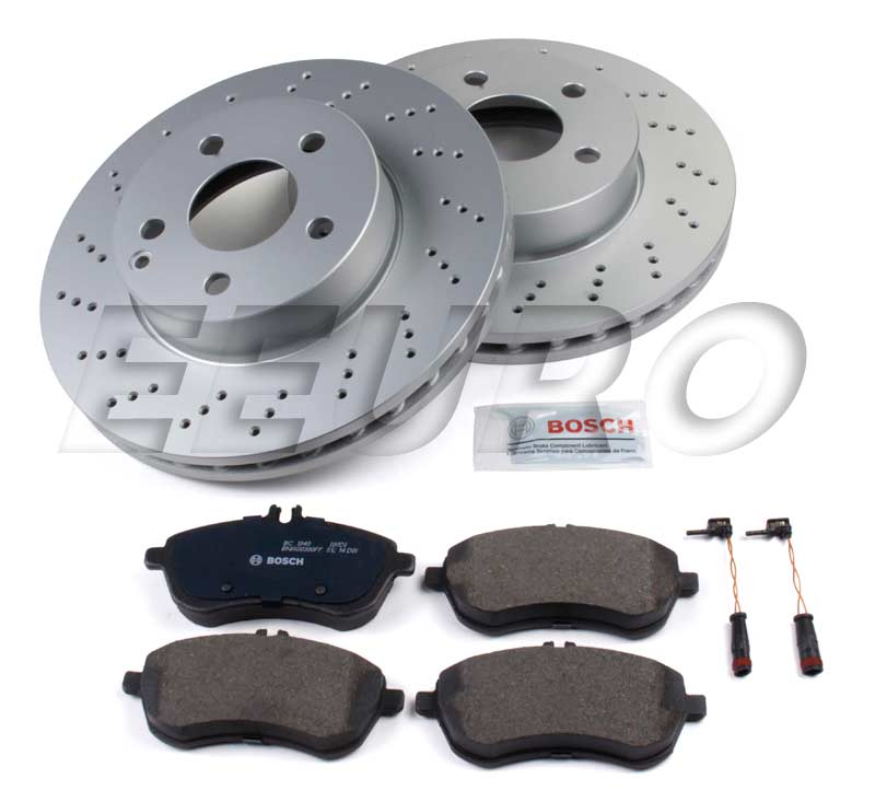 Mercedes Disc Brake Kit - Front (295mm) (W204) (Sport) - eEuroparts.com Kit