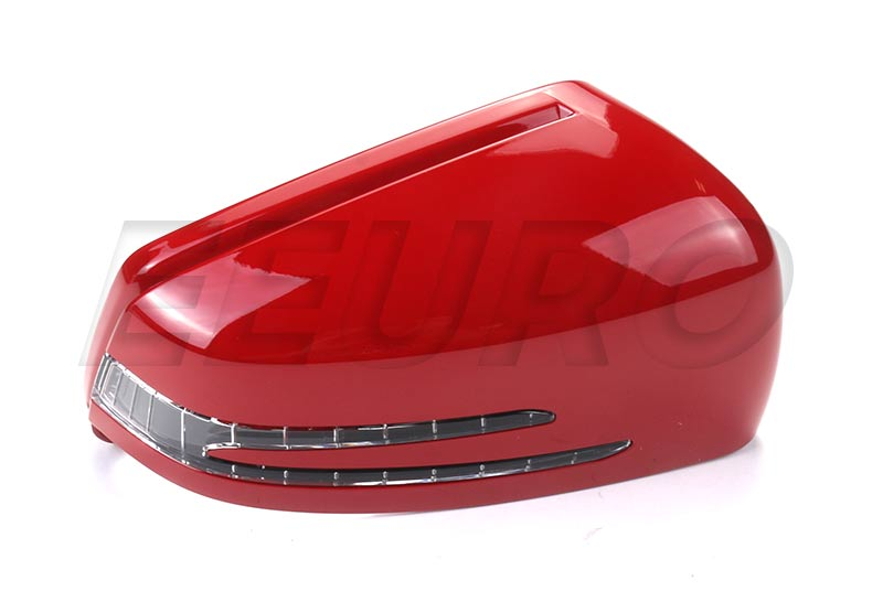 Genuine Mercedes Side Mirror Cover - Passenger Side (Flame Opal) 21281060003590 21281060003590