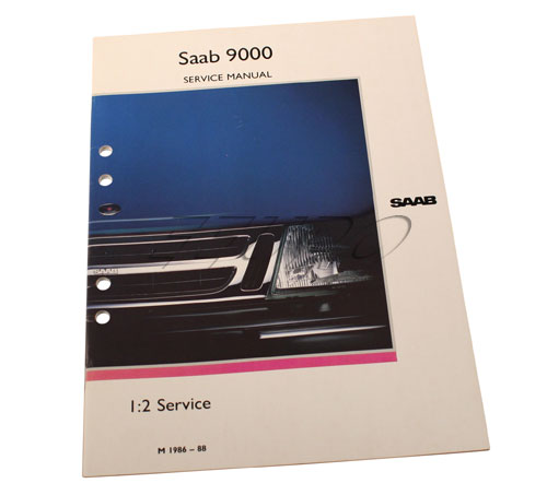 Service manual: PDI (initial service) manual - Genuine SAAB 0337170