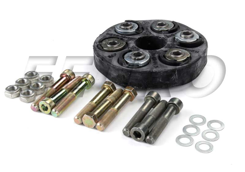 Genuine mercedes drive shaft flex disc kit front for Flex disk mercedes benz