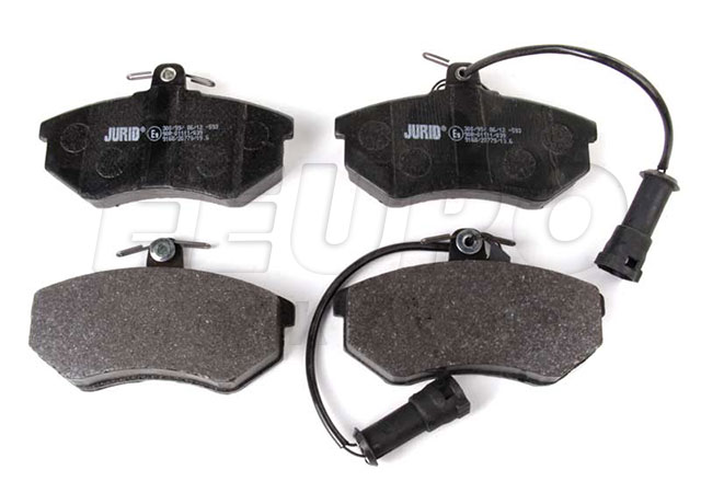 Disc Brake Pad Set - Front - Genuine Audi 443698151F