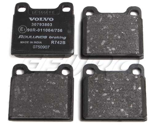 Disc Brake Pad Set - Rear 30793802 Main Image
