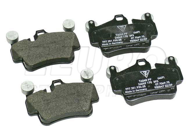 Disc Brake Pad Set - Front and Rear - Genuine Porsche 99735193905