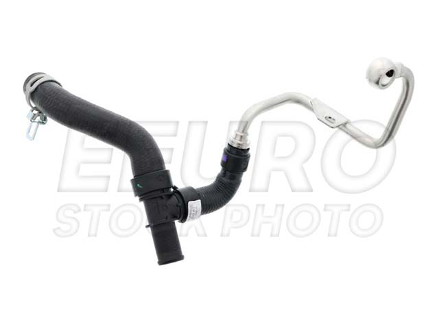 engine coolant pipe - auxiliary water pump to thermostat housing  11537645832 main image