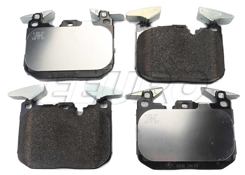 Disc Brake Pad Set - Front - Genuine BMW 34106878878