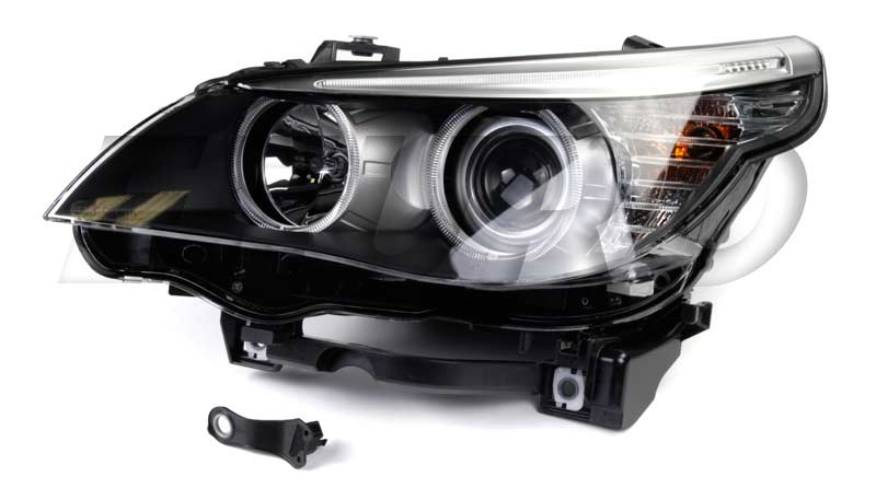 Headlight Assembly - Driver Side (Halogen) - Hella 009449051 BMW 63127177731