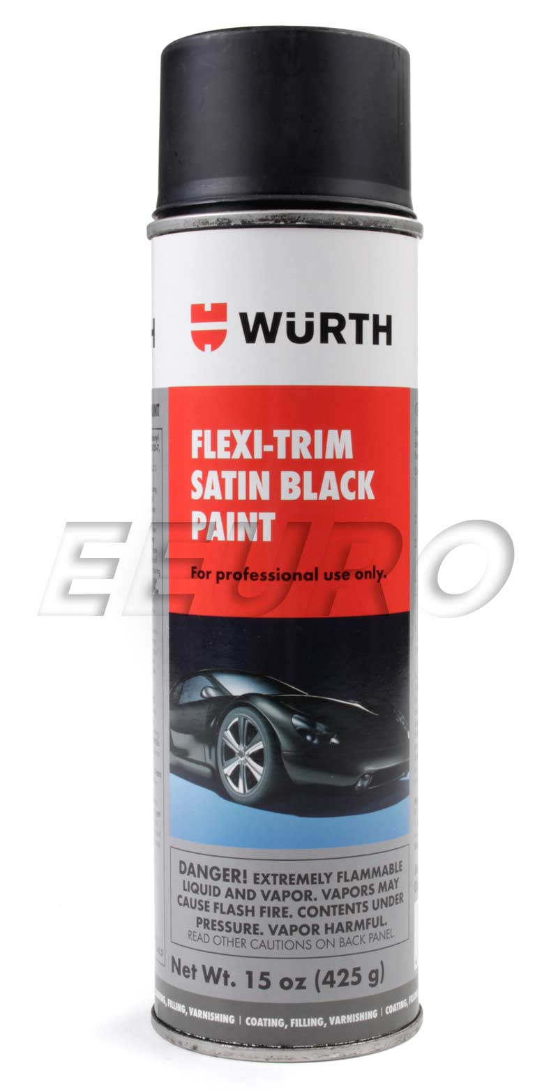 Satin Black Plastic Trim Paint (15oz.) SBP Main Image