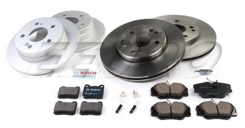 Mercedes Disc Brake Kit (Complete) (W124) - eEuroparts.com Kit  Disc Brake Kit (Complete) (W124)