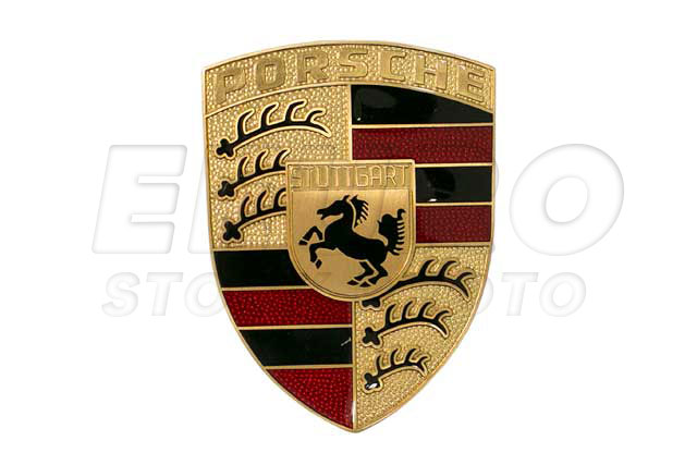 90155921026 Genuine Porsche Emblem Fast Shipping Available