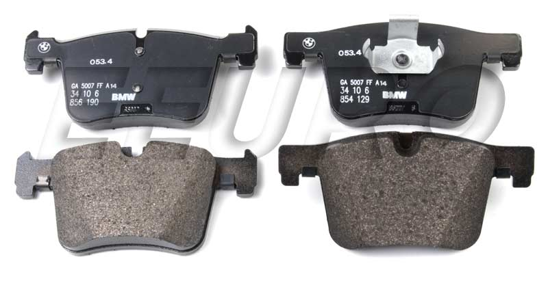 Disc Brake Pad Set - Front - Genuine BMW 34106859182  Disc Brake Pad Set - Front