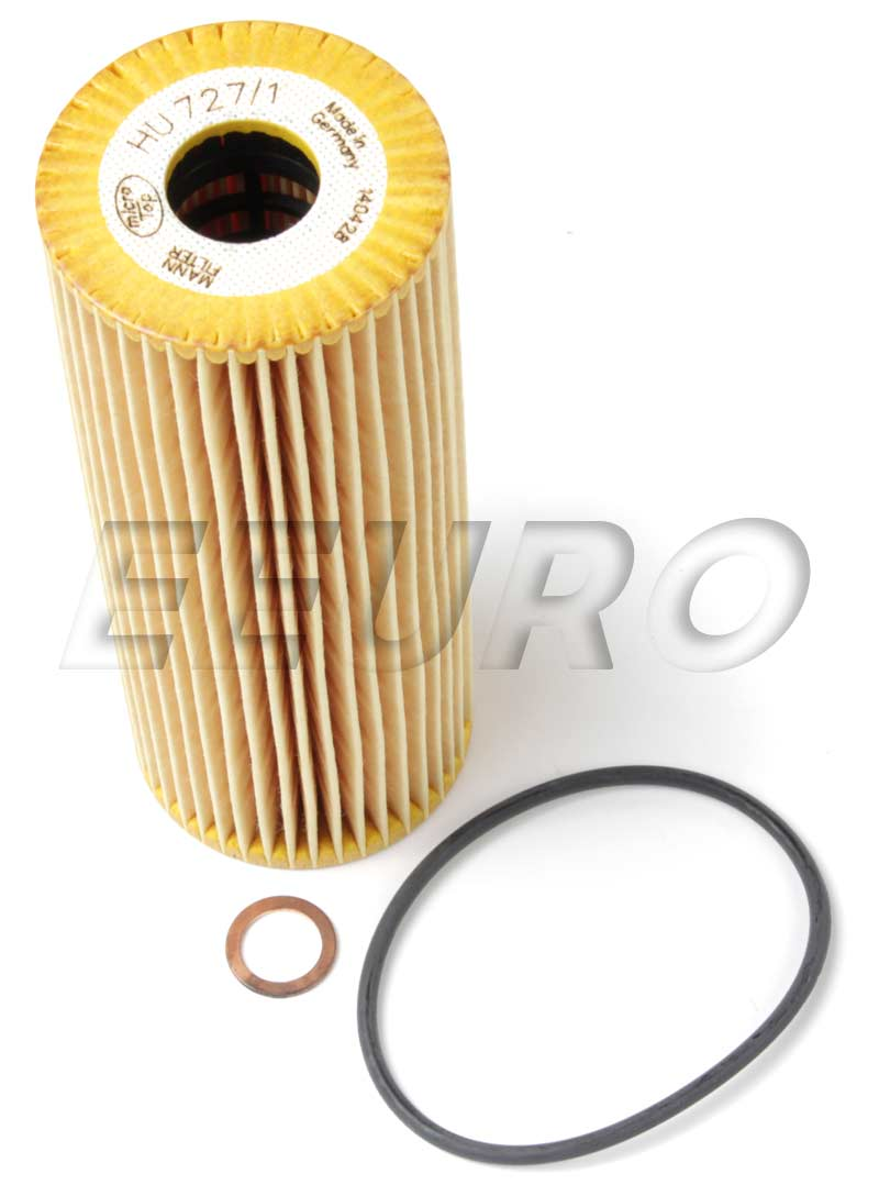 Mercedes Benz Engine Oil Filter Mann Hu7271x Fast 2000 E320 Fuel Main Image