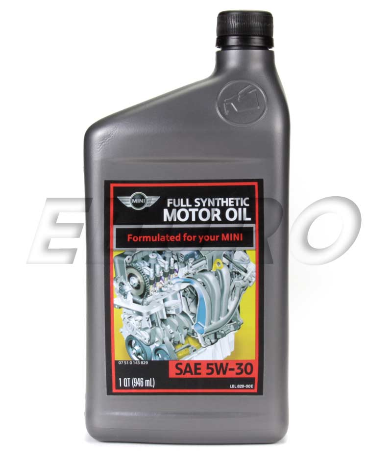 Bmw oils fluids and chemicals wide selection and for Mini cooper motor oil