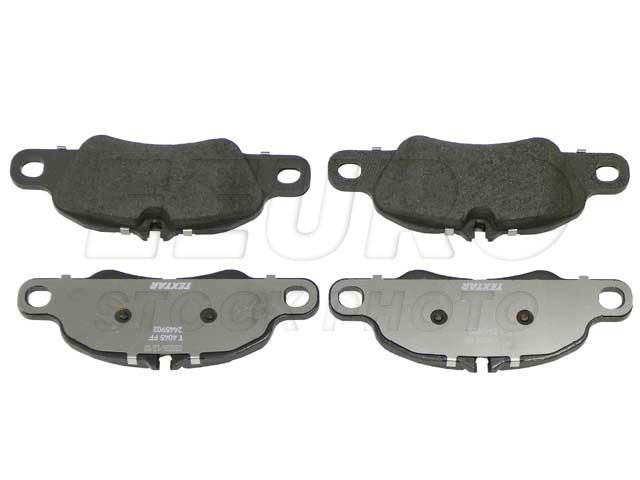 Disc Brake Pad Set - Front - Genuine Porsche 99735193805