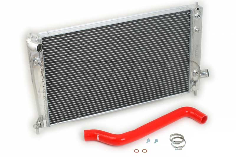 Radiator Kit (w/ Upper Hose) (Performance) (Red) - do88 WC270R SAAB WC270R