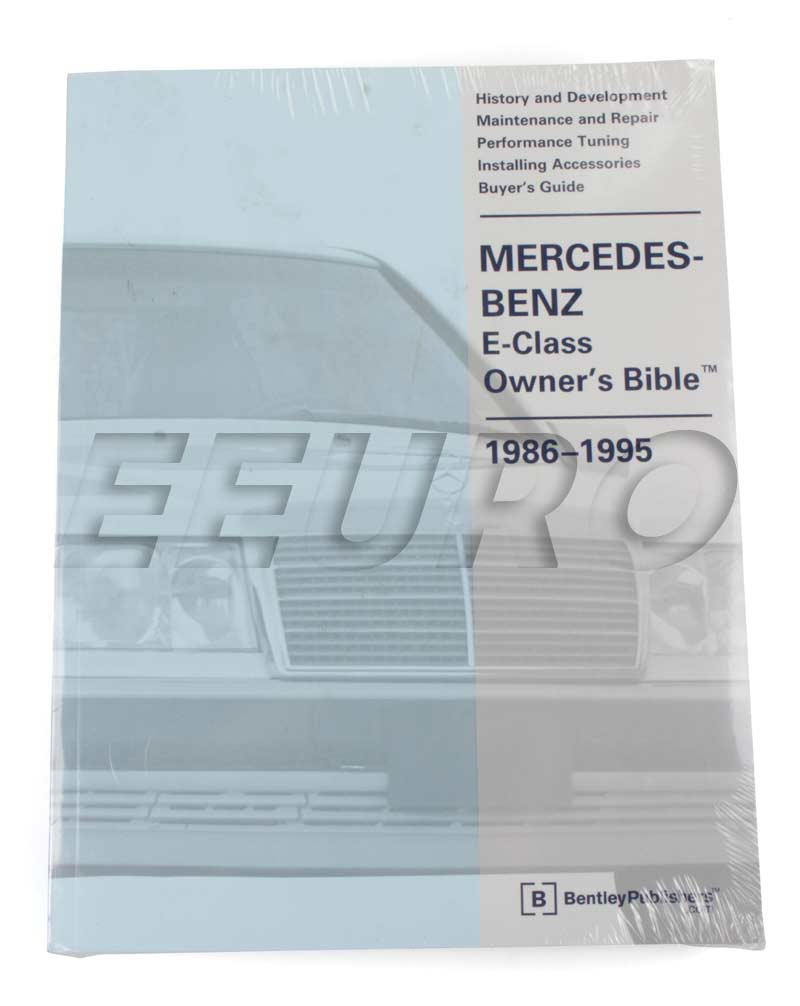 Mercedes Benz Repair Manual E Class W124 Bentley Gmob Fast 1989 300e Parts Main Image