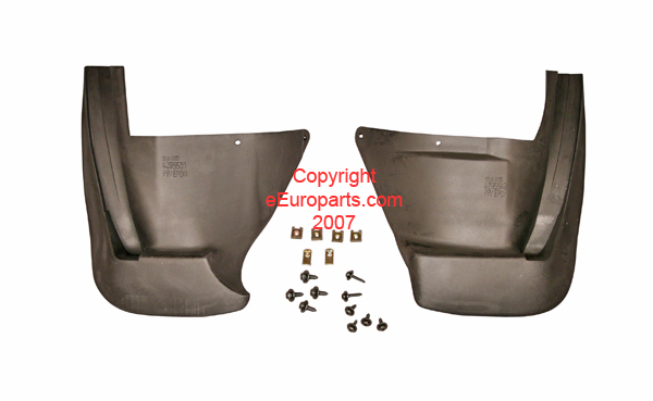 Mud Flap Set - Rear - Genuine SAAB 0275156