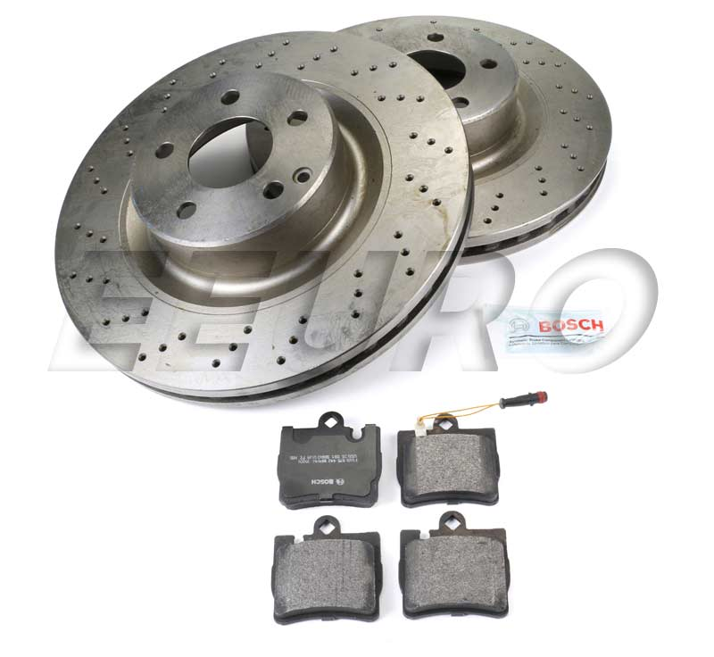 Mercedes Disc Brake Kit - Rear (345mm) - eEuroparts.com Kit  Disc Brake Kit - Rear (345mm)