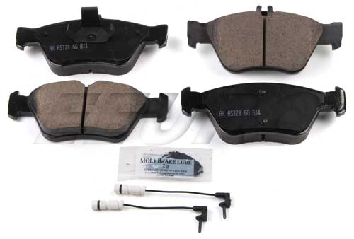 Click here for Disc Brake Pad Set - Front - Akebono EUR710 Merced... prices