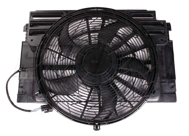 Main Components Of A Fan : Genuine bmw auxiliary cooling fan assembly