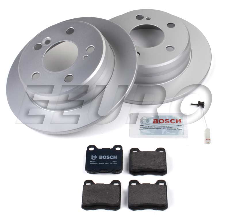 Mercedes Disc Brake Kit - Rear (258mm) (W201) - eEuroparts.com Kit