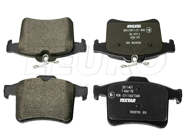 Disc Brake Pad Set - Rear - Genuine Jaguar C2D3792