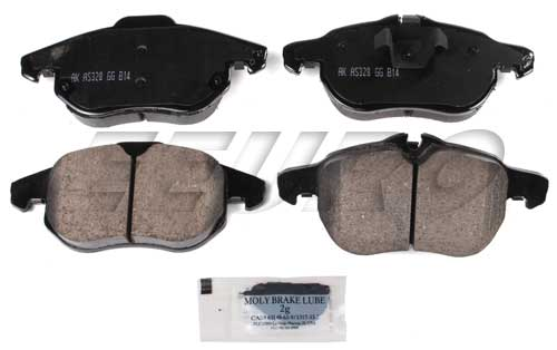 Click here for Disc Brake Pad Set - Front (285mm) (302mm) - Akebo... prices