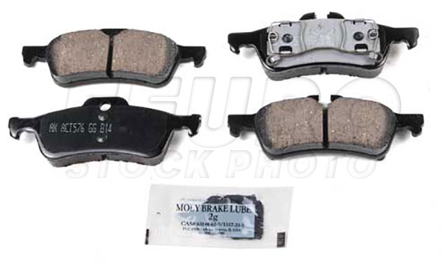 Disc Brake Pad Set - Rear - Genuine BMW 34216770252