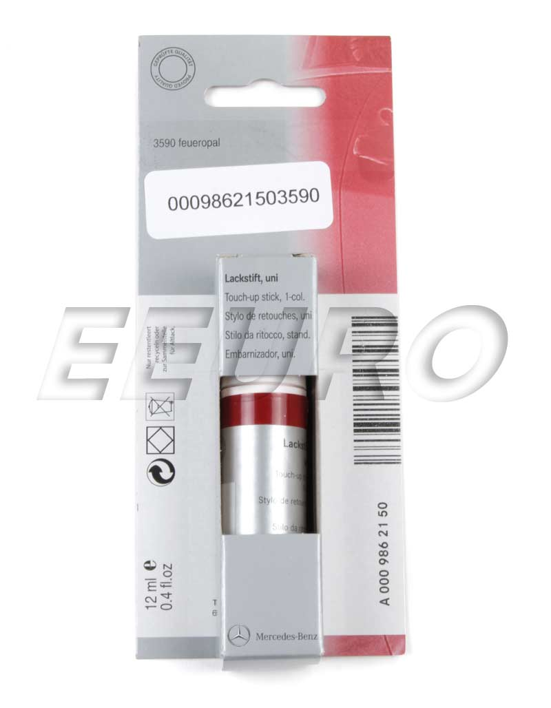 00098621503590 genuine mercedes touch up paint code for Mercedes benz touch up paint