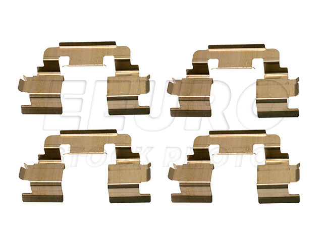 Disc Brake Pad Retaining Clip Set - Front - Genuine Land Rover SFK500010