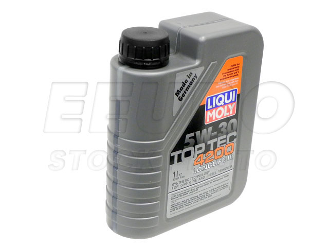 engine oil 5w30 1 liter top tec 4200 liqui moly. Black Bedroom Furniture Sets. Home Design Ideas