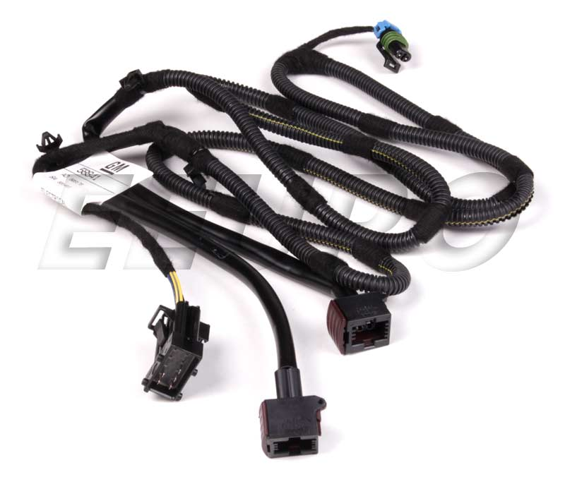 Genuine Saab Bumper Wiring Harness - Front 12767811