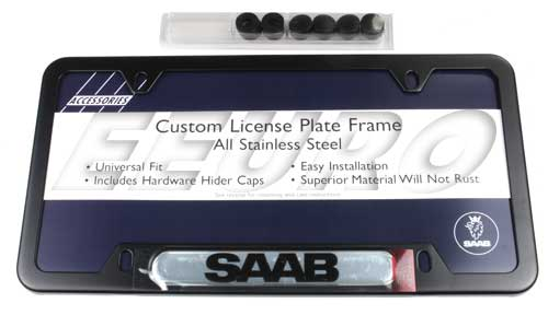License Plate Frame (Black) 0250381 Main Image