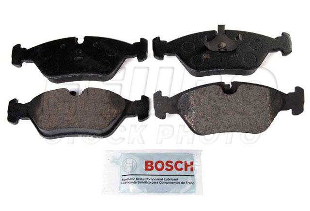Disc Brake Pad Set - Front - Genuine BMW 34111161717