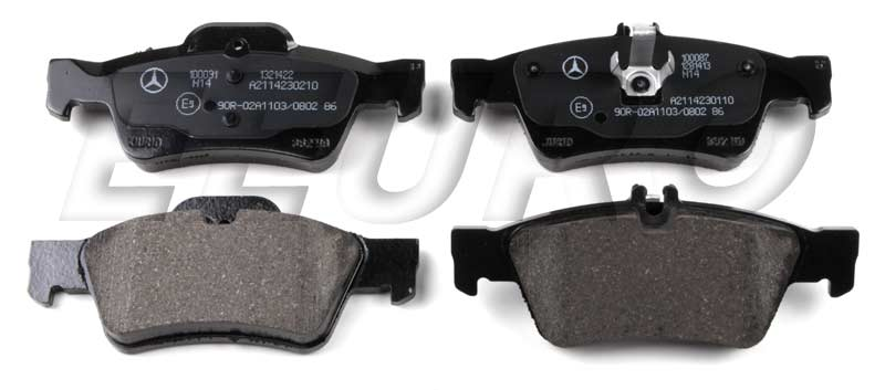 Disc Brake Pad Set   Rear 007420102041 Main Image