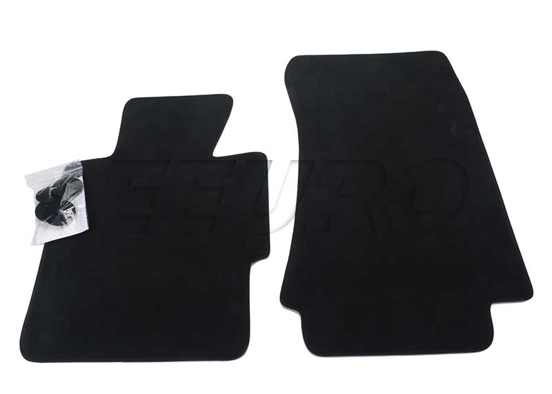 Floor Mat Set - Front (Black) - Genuine BMW 51477059131 51477059131