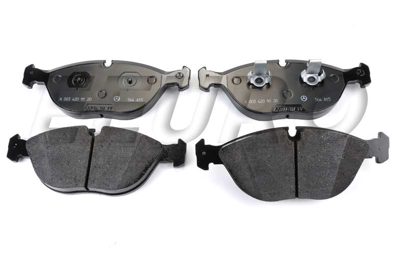 Disc Brake Pad Set - Front (Sport) - Genuine Mercedes 003420912041  Disc Brake Pad Set - Front (Sport)