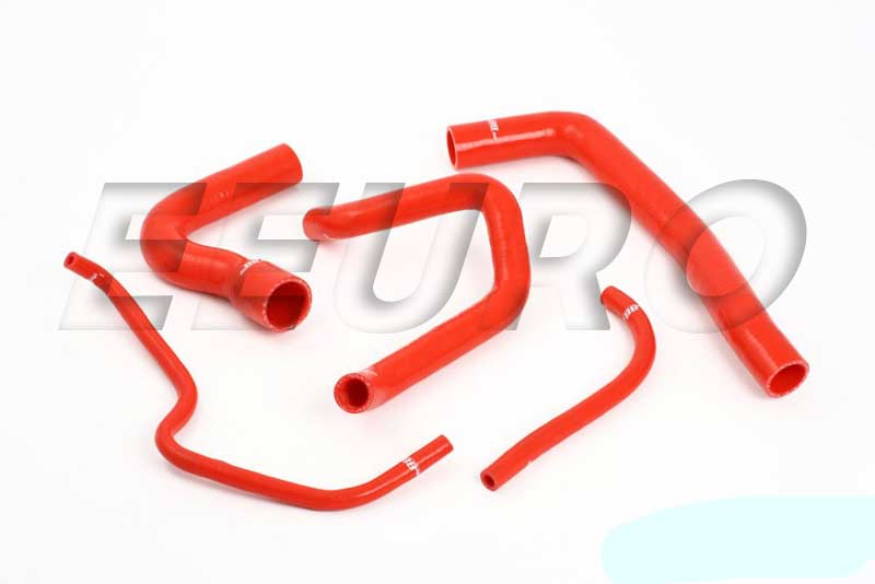 Engine Coolant Hose Kit (Silicone) (Red) DO88KIT32R Main Image