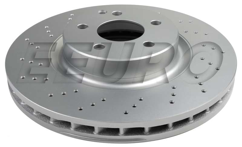 Disc Brake Rotor - Front (330mm) (Cross-Drilled) 36010980 Main Image