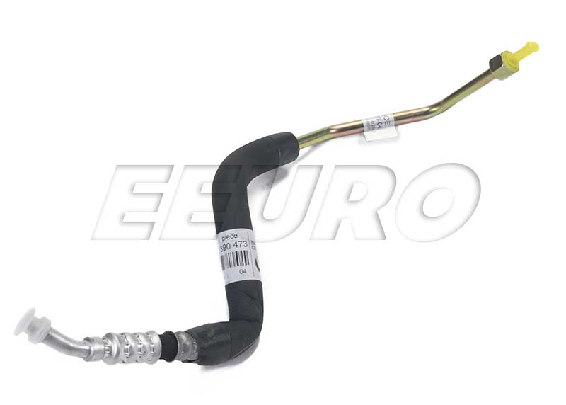 A/C Hose Assembly - Condenser to Receiver Drier - Genuine BMW 64538390473 64538390473