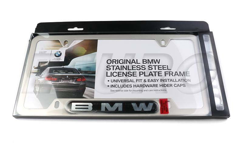 bmw license plate frame 82110413118 | eeuroparts®