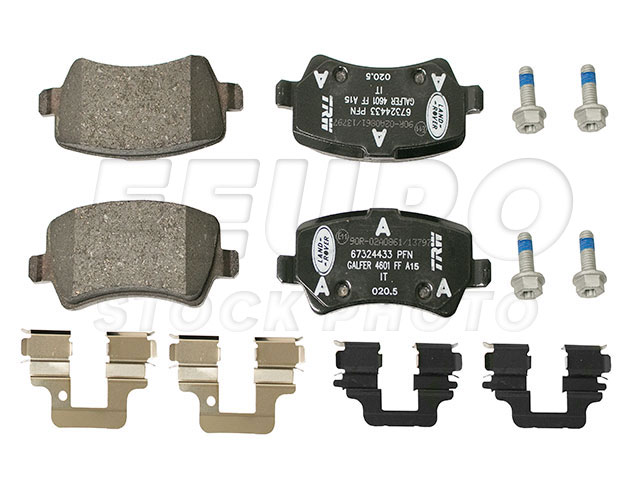 Disc Brake Pad Set - Rear - Genuine Land Rover LR043285