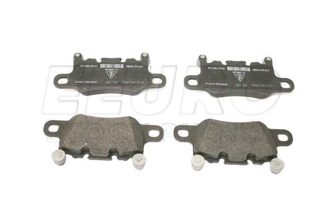 Disc Brake Pad Set - Rear - Genuine Porsche 99135294701