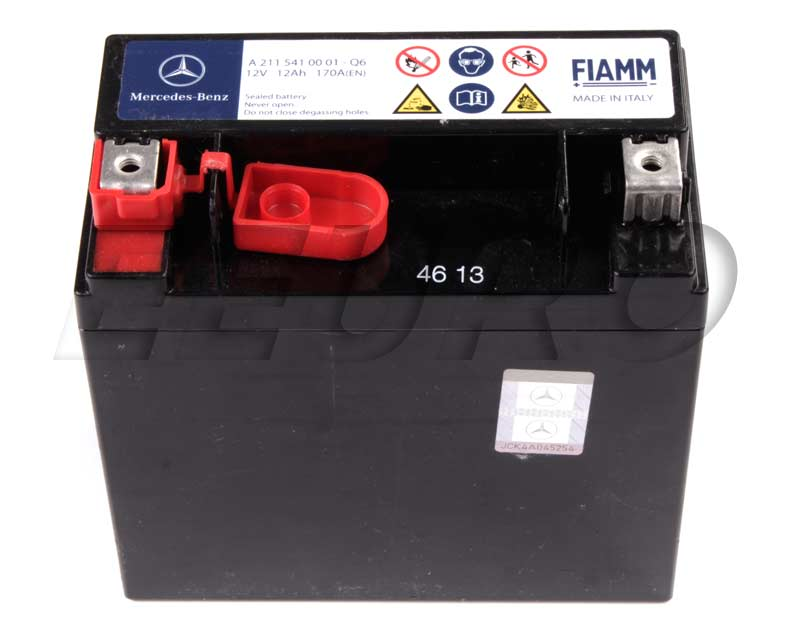 2115410001 genuine mercedes auxiliary battery sbc for Mercedes benz batteries