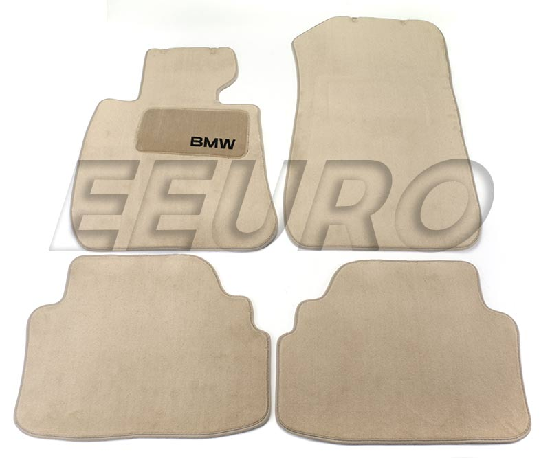 82112293532 Genuine Bmw Floor Mat Set Beige Free