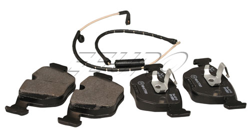 Disc Brake Pad Set - Front (w/ Wear Sensor) - Genuine BMW 34112157589