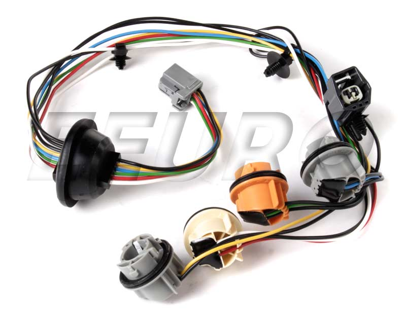Genuine Volvo Tail Light Wiring Harness - Driver Side 30678273