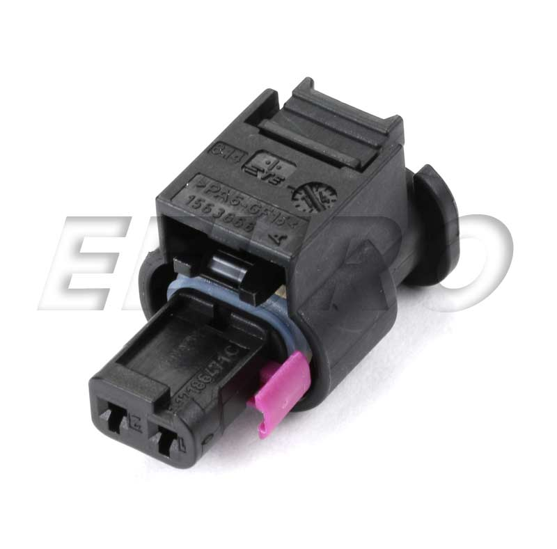 Electrical Connector Housing (2-Pin) 4H0973702A Main Image